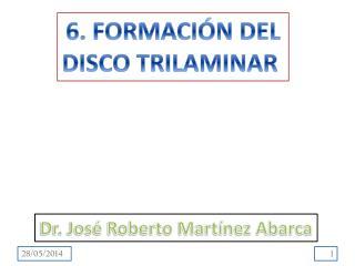 6. FORMACIÓN DEL DISCO TRILAMINAR