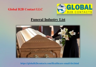 Funeral Industry List