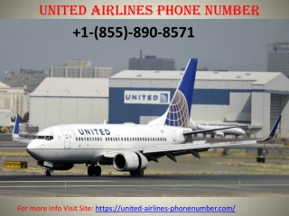 United Airlines Phone Number Toll-free 1 855 890 8571