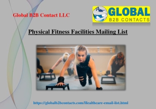 Physical Fitness Facilities Mailing List