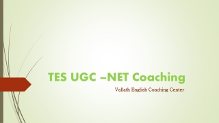 ugc net coaching in kerala