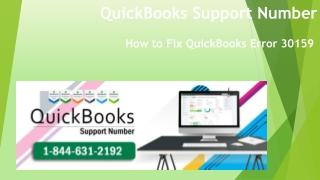 How to Fix Error 30159   1-844-631-2192
