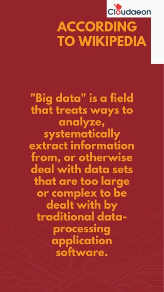 Know how big data help boost your business.