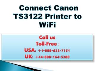 Canon ts3122 setup