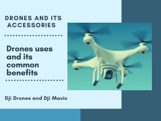 Drones And its Benefits