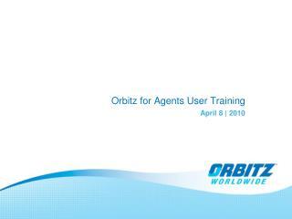 Orbitz for Agents User Training