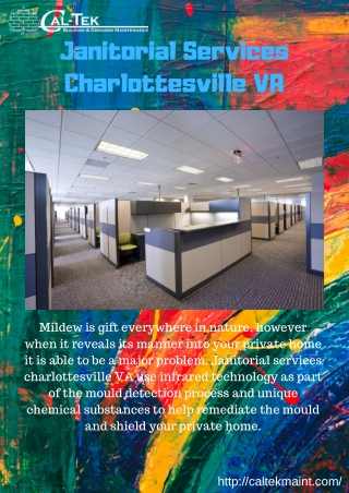 Janitorial Services Charlottesville VA