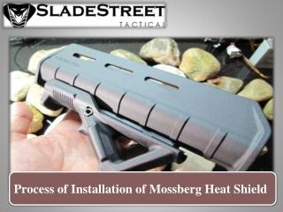 Process of Installation of Mossberg Heat Shield