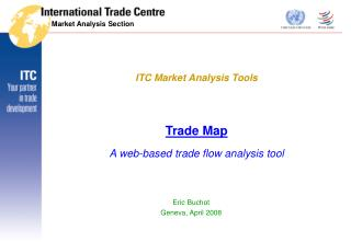 Trade Map A web-based trade flow analysis tool