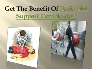 Basic Life Support Certification
