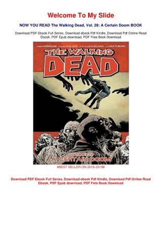 <PDF> The Walking Dead, Vol. 28: A Certain Doom #FULL PAGE