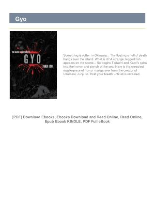 Gyo Books #FULL VERSIONS