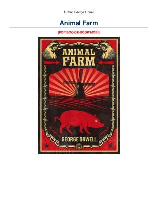Animal Farm [EPUB]