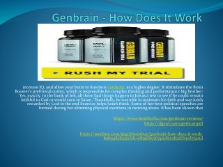 Genbrain - Increase Your Mind Power