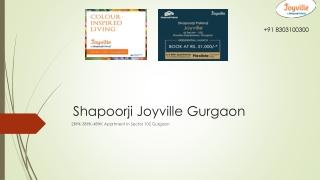 Joyville Gurgaon Sector 102 - Book Free Site Visit 91 8303100300