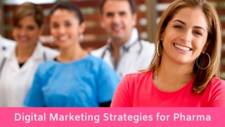 Pharmaceutical Digital Marketing Strategies