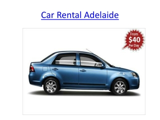 Car Rental Adelaide