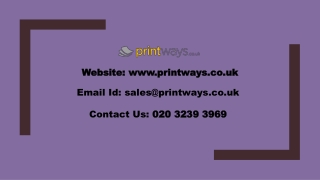 Business Card Printing Services in UK