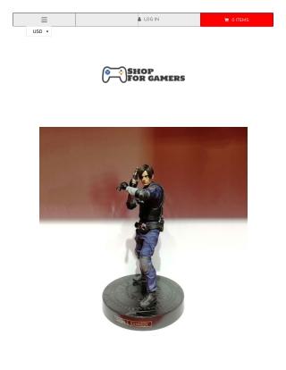 Resident Evil Leon Scott Model Action Figure
