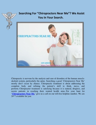 Chiropractor Near Me pdf