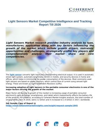 Light Sensors Market