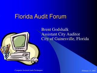 Florida Audit Forum