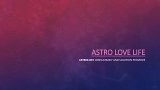Astro love life
