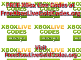 free xbox live gold membership codes