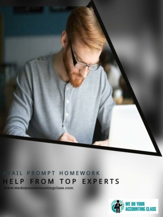 Avail prompt homework help from top experts with these 5 features