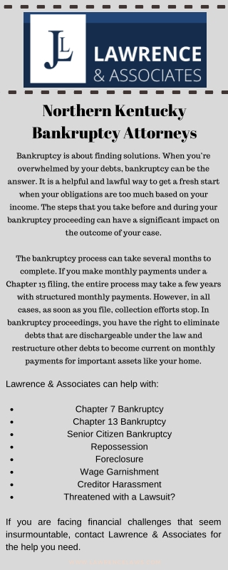 Northern Kentucky Bankruptcy Attorneys