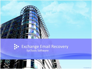 Exchange Email Recovery