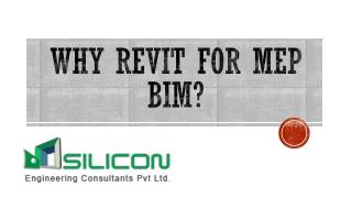 Why Revit for MEP BIM?