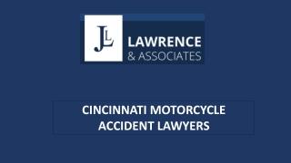 Cincinnati Motorcycle Accident Lawyers