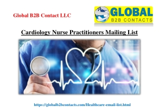 Cardiology Nurse Practitioners Mailing List