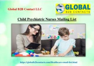 Child Psychiatric Nurses Mailing List