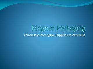 Magnet packaging