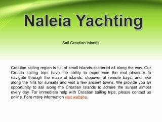 Best Sail in Croatian Islands