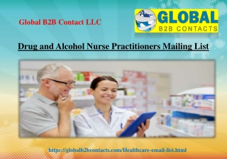 Drug and Alcohol Nurse Practitioners Mailing List