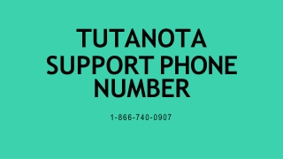 Tutanota Support【1-866-740-0907】Phone Number