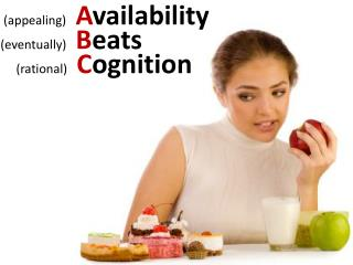 Appealing   Availability eventually   Beats       rational   Cognition