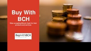BCH merchants