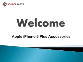 Apple iPhone 6 Plus Accessories