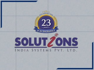 Solution India System Pvt Ltd - Audio Visual Company/Consultant Mumbai Bangalore | Polycom Video Conferencing | Huddle R