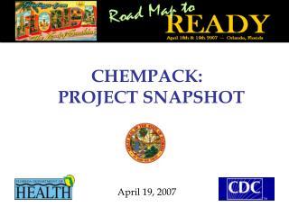 CHEMPACK: PROJECT SNAPSHOT