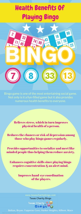 Health Benefits Of Playing Bingo