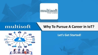 Best IOT Training Courses Online | Multisoft Virtual Academy