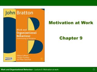 Motivation at Work Chapter 9