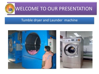Tumble dryer and launder machine