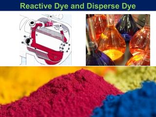 Reactive dye and disperse dye