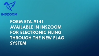 Form ETA-9141 available in INSZoom for electronic filing through FLAG system | INSZoom